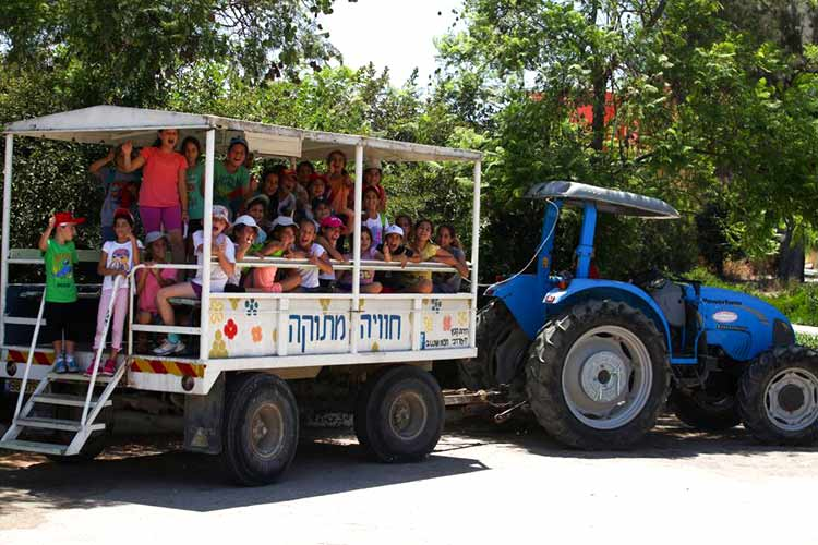 אטרקציות לילדים בנגב המערבי, קיבוץ יד מרדכי