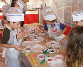 סינרים - ימי הולדת, יום הולדת, סדנאות בישול לילדים, סדנאות שף לילדים