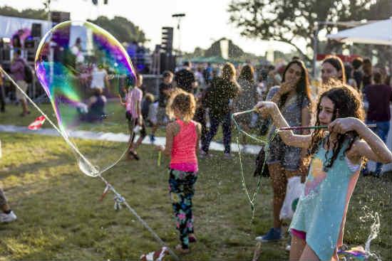 פעילויות לילדים ביום העצמאות, אירועי יום העצמאות 2015 במרכז, מנגל טבעוני ברעננה